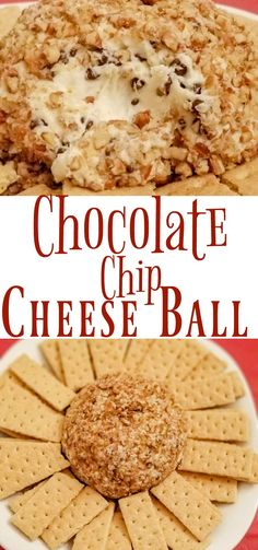 Be prepared to share the recipe for this Chocolate Chip Cheese Ball. It is sweet, not savory, and will be the hit of the party.