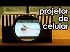 Projetor de celular (projetor caseiro com celular)