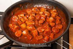 Duitse currywurst-9777