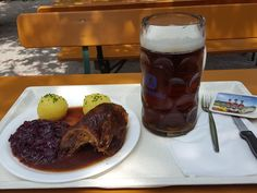 Ente und Radler im Hopfengarten (Biergarten) in München. Lust Restaurants zu testen und Bewirtungskosten zurück erstatten lassen? https://www.testando.de/so-funktionierts