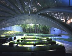 Leaf Chapel in Yamanashi, Japan; designed by Klein Dytham Architecture