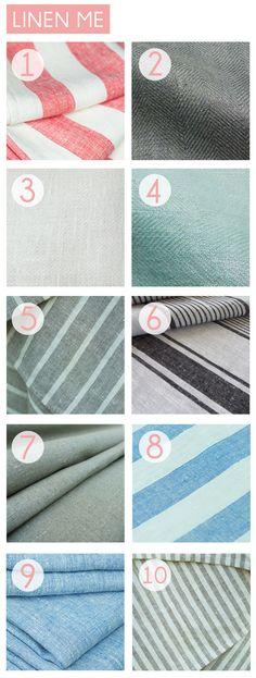 Emily Henderson's best online fabric sources // Linen-Me                                                                                                                                                                                 More