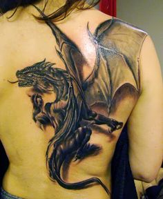 3D Dragon Tattoo.. I also Want One for me