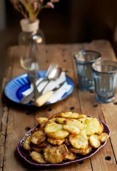 """Receta 299: Calabacines fritos »  - 1080 fotos de cocina, proyecto basado en el libro """"1080 recetas de cocina"""", de Simone Ortega. http://www.alianzaeditorial.es/minisites/1080/index.html"""