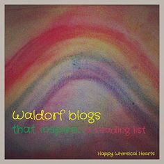 Waldorf blogs that inspire...