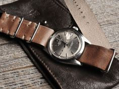 Bulang & Sons Leather NATO on Rolex Datejust...