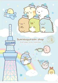 Anime Chibi, Kawaii Anime, Sumiko Gurashi, Cute Cartoon Pictures, Kawaii Doodles, Kawaii Wallpaper, Hobonichi, Cute Characters, Tokyo Japan
