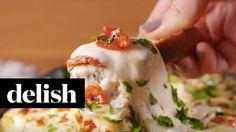 Hot Spinach Feta Dip | Delish