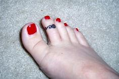 Tattoo-toe ring. <3