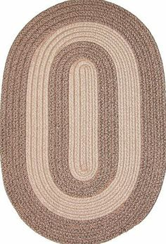 "Veranda 6' x 6' Round Braided Rug in Tan & Cocoa Tweed by Constitution Rugs LLC. $201.65. Manufactured 100% in the U.S.A. indoor/outdoor braided rug. Reversible for added wear. 100% polypropylene double flat braid construction. The ""everywhere-rug"" perfect for patio, poolside, boat and dock, porch or balcony, and garage, as well as indoor den, kitchen, family room etc!"
