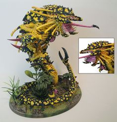 Mawloc painted by Casey Landreth. The poisonous color looks very threatening!