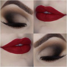 Tutorial - maquiagem opaca com efeito profissional para o Natal » Pausa para Feminices