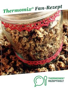 Knusper Müsli mit wenig Zucker & trotzdem super lecker von Olla di Bolla. Ein Thermomix ® Rezept aus der Kategorie sonstige Hauptgerichte auf www.rezeptwelt.de, der Thermomix ® Community.