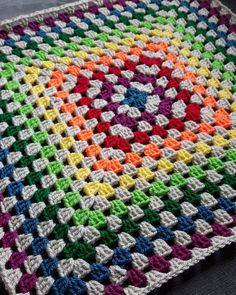 Here's another take on the rainbow granny square that I showed yesterday.  Again this one will be for sale when finished.  Feel free to message me to reserve it.  Will be 70 x 70 cms and 25 plus postage  #crochet #crochetblanket #blanket #crochetaddict #crochetlove #crocheted #crochetersofinstagram #instacraft #instacrochet #craft #handmade #workinprogress #wip #craftyatheart #stylecraft #craftbuzz #rainbow #bright #grannysquare #granny #baby #babyblanket #babygift #newbaby #newmum #mummy…