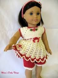 Image result for free crochet doll costumes for barbie dolls