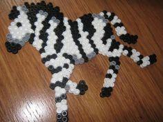 Zebra peler beads by Rebecca E. - Perler® | Gallery