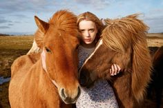 Ryan McGinley captures Flair Magazine's December 2014 cover story starring top models Meghan Collison and Esmeralda Seay-Reynolds styled by Sissy Vian. Equine Photography, Outdoor Photography, Editorial Photography, Animal Photography, Portrait Photography, Fashion Photography, New Foto, Collateral Beauty, Horse Fashion