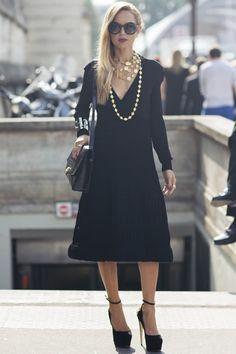 Rachel Zoe Street Style: Rock Head-To-Toe Black With Flair | The Zoe Report