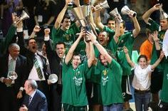 this is my team.Panathinaikos. May the green forces be always with you.