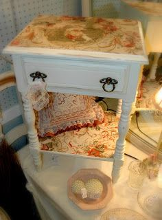 """Girl in Pink: Creamy Painted Furniture and a """"Dress-Up"""" Trunk"""