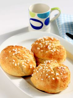 Panecillos caseros My Recipes, Cooking Recipes, Favorite Recipes, Bread Machine Recipes, Bread Recipes, Donuts, Pan Bread, Types Of Bread, Dessert Bread