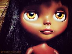 Anandi OOAK Beautiful Brown Blythe Ethnic by MyDeliciousBliss, $950.00