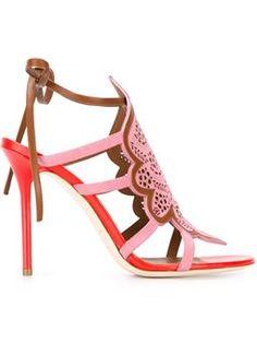 MALONE SOULIERS 'Eva' laser-cut sandals