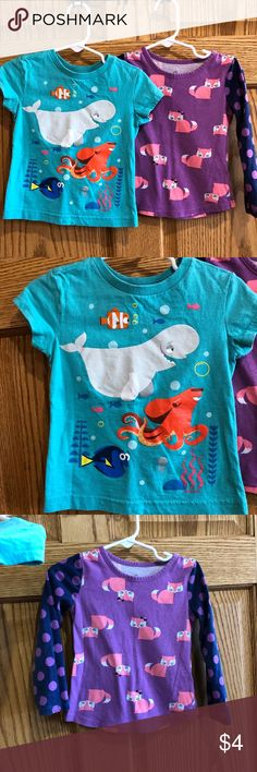 Girls Funky Tee from Okie Dokie Disney Fox Fish Disney Tees, Fashion Tips, Fashion Design, Fashion Trends, Kids Outfits, Children Clothing, Foxes, Octopus, Whale