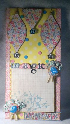 Fifth Page in paper bag album series going on at my blog: scrapbookscraftscards.blogspot.com. Check it out!
