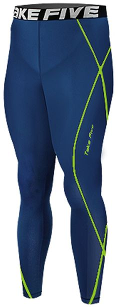 New 209 Navy Skin Compression Tights Base Layer Running Pants Men - Sporting Goods Running Gear Sports Apparel, Uv Protective Performance Base Layer Cycling Apparel, Health Fitness Crossfit Clothing For Men: Amazon.co.uk: Sports & Outdoors