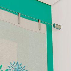 Barral tensado para ventana - Modelo Niza cromado