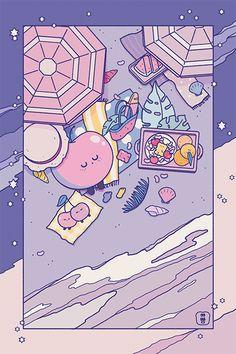 5회 문구 온리전 문방구 전프레 엽서를 공개합니다조용한 밤하늘 같이 잔잔한 OCTO님(@octo_octo_octo)의 그림입니다.  이번에도 협력해주셔서 감사합니다!pic.twitter.com/5zrGVwJBdf Cute Pastel Wallpaper, Soft Wallpaper, Anime Scenery Wallpaper, Cute Patterns Wallpaper, Cute Anime Wallpaper, Aesthetic Pastel Wallpaper, Cute Cartoon Wallpapers, Wallpaper Iphone Cute, Cute Kawaii Drawings