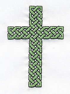 Cross stitch for celtic cross