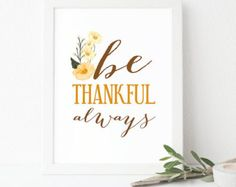 Unique thankful print related items | Etsy Garment Of Praise, Thankful, Wall Decor, Unique, Handmade, Etsy, Wall Hanging Decor, Hand Made, Wall Decorations