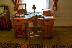 MIEJSCÓWKA: Muzeum wsi Kieleckiej Drafting Desk, Office Desk, Furniture, Home Decor, Desk Office, Decoration Home, Desk, Room Decor, Home Furnishings