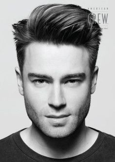 Best Men's Hairstyles 2014- Sean's hair is so close to this length. Love these styles!!