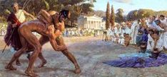 From the age of seven, Spartan boys were sent to the agoge. A school to teach military tactics and characteristics. They stayed here until they were considered a soldier at the age of Greece Movie, Ancient Olympics, Greek Men, Historia Universal, Movie Plot, Ancient Greece, Dog Leash, Olympic Games, Dumb And Dumber