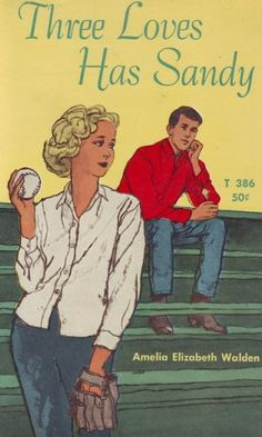Three Loves Has Sandy by Amelia Elizabeth Walden, Ya Books, Books To Read, Books For Teens, Teen Books, Children's Book Illustration, Book Illustrations, Teenage Love, Old And Teen, Teen Romance