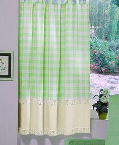 Perdea confecţionată Valentini Bianco PR009 Verde