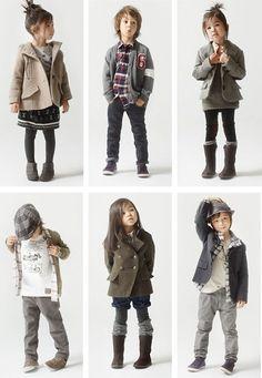 Well hey, adorable, trendy children.