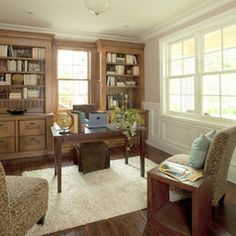 Home Office Masculine Design, Pictures, Remodel, Decor and Ideas - page 8