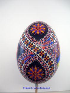 goose egg pysanka. pysanky. pisanki. писанка. писанки