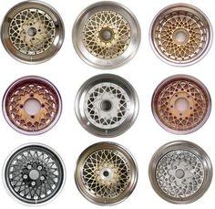 different BBS wheels