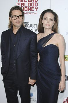 Angelina Jolie, Brad Pitt, Gwen Stefani at Blood and Honey premiere