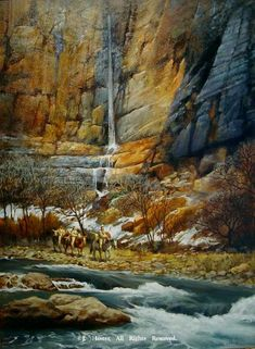 """""""Canyons Echo""""Limited Edition Giclee Print - Giclee Prints Prints - Native American Prints by J. Hester"""