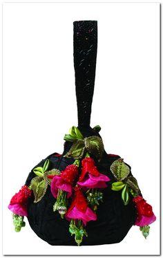 Mary Frances Bag Freesia Handbag Mary Frances Purses, Mary Frances Handbags, Beaded Purses, Beaded Bags, Vintage Purses, Vintage Bags, Handmade Handbags, Handmade Bags, Potli Bags
