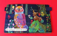 La Belle Illustration: Nathalie Lété, Promenade de la petite fille, éditions Les Fourmis Rouges, octobre 2014