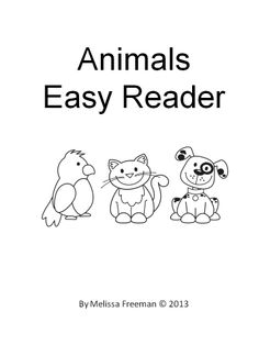 A free 16 page easy reader. Students can read, colour and enjoy! Introduces some sight words: see, the, here.