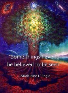 """Some things have to be believed to be seen"" ☼ so . You'll see it when you believe it! Spiritual Growth, Spiritual Quotes, Spiritual Gangster, Zen, When You Believe, A Course In Miracles, Morning Ritual, Spiritual Awakening, Spiritual Enlightenment"