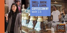 CoffeeCon at the Metropolitan Pavilion, Sat. May 13